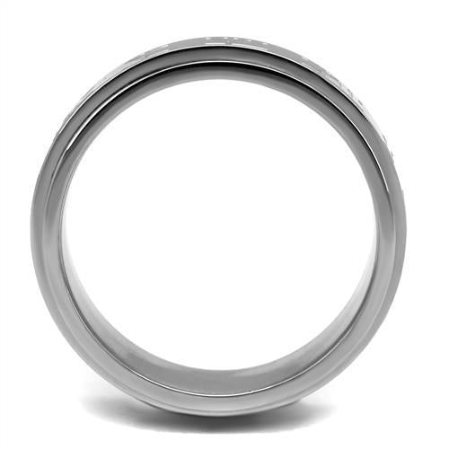 Stainless Steel Ring High polished (no plating) Men's