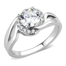 Load image into Gallery viewer, Solitaire Premium Crystal with Pave Moon Crystals April Birthstone Newest