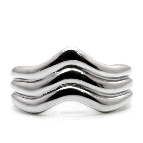 High Polished Ring Looking Great  When Worn on Any Finger!