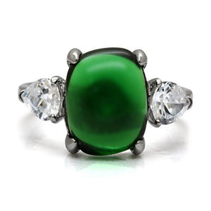 Emerald color - Jade Design Stainless Steel Exquisite!