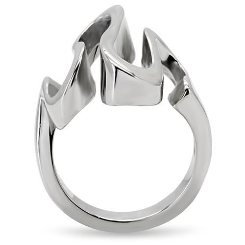 Stainless Steel Ring High polished (no plating) Women no Stone Newest