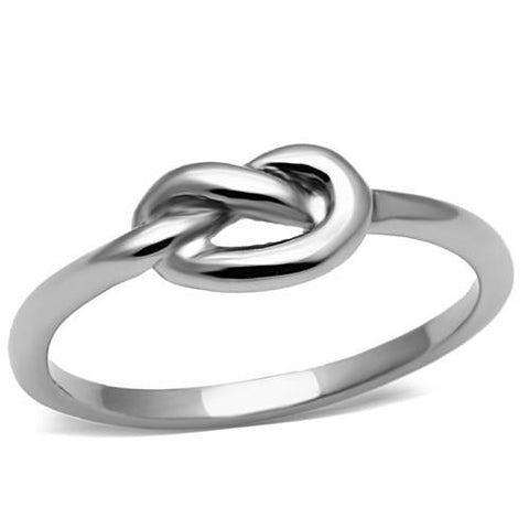 Celtic Knot Ring- High Polished Stainless