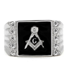 Load image into Gallery viewer, Masonic Signet Ring Stainless Steel Men's Newest