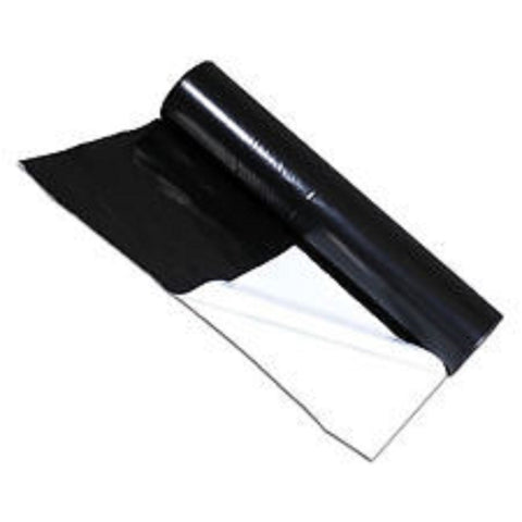 Black/White Reflective Grow Room Plastic Sheeting 10m 125mu 2m wide