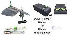 LUMII COMPACTA TIMA 12 18 HOUR 600W MAGNETIC BALLAST GROW LIGHT KIT HYDROPONICS