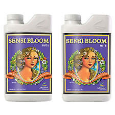 Advanced Nutrients Sensi Bloom 1L A+B pH Perfect Hydroponics 2 Part Nutrient