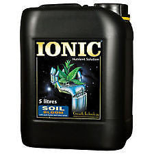 IONIC SOIL BLOOM PLANT FOOD 5L By Growth Technology.