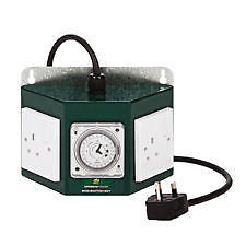 Green Power Contactor Timer 2 Way Professional Contactor Timer