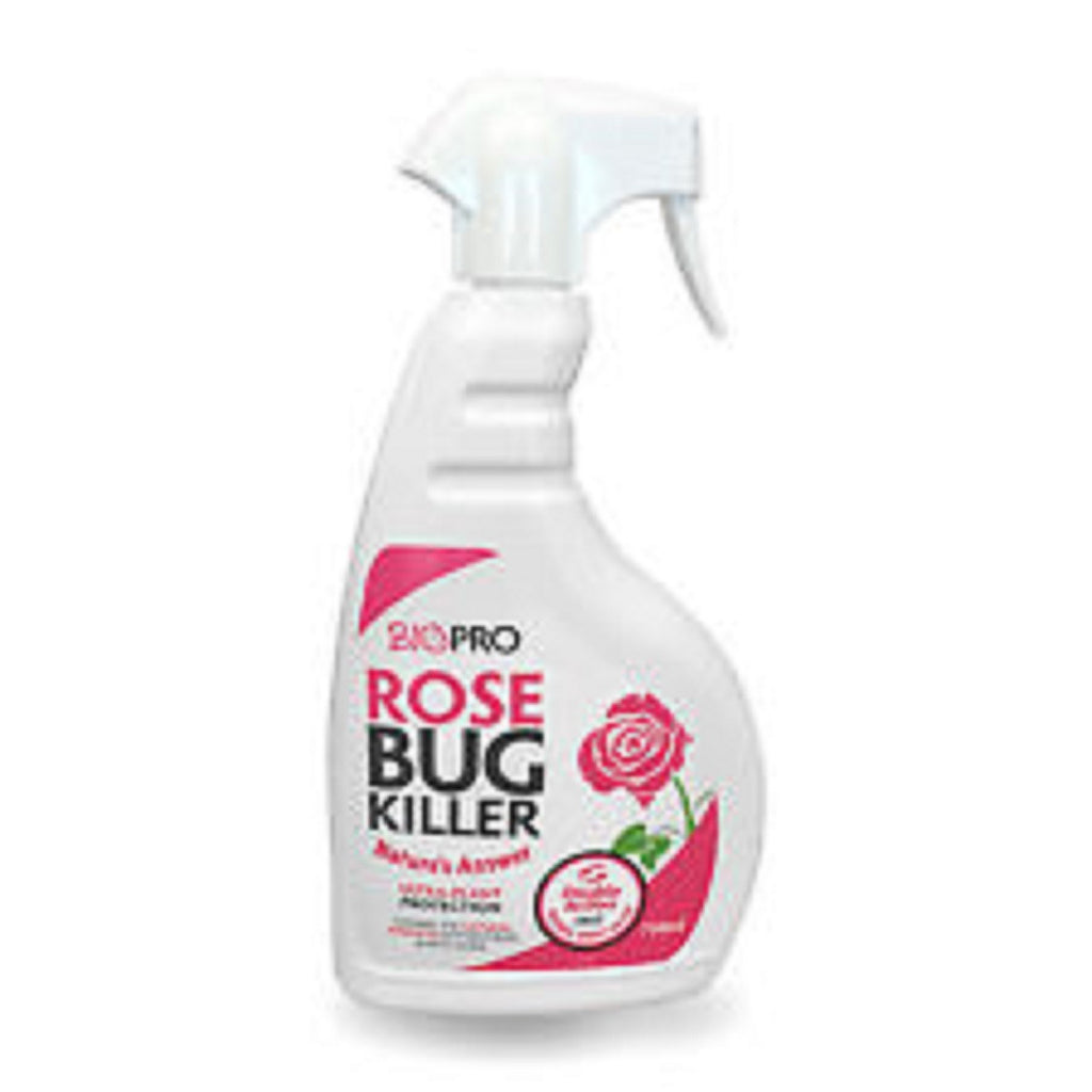 12 x BioPro Rose Bug Killer Natural Plant Protection Greenfly 750ml