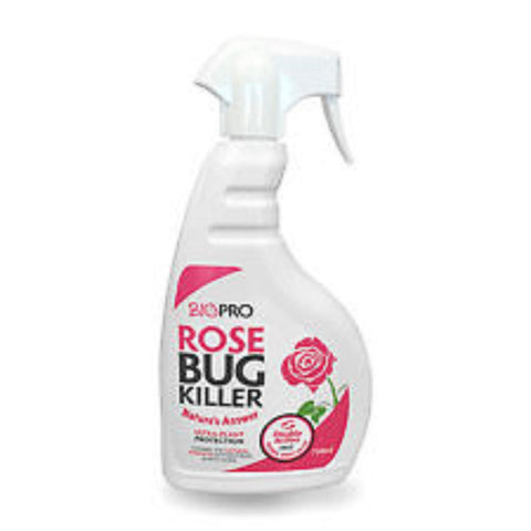 1 x BioPro Rose Bug Killer Natural Plant Protection Greenfly 750ml