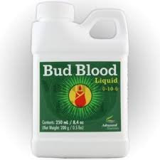 Advanced Nutrients Bud Blood 250ml Increase Harvest Size Flower Bloom Indoor Grow