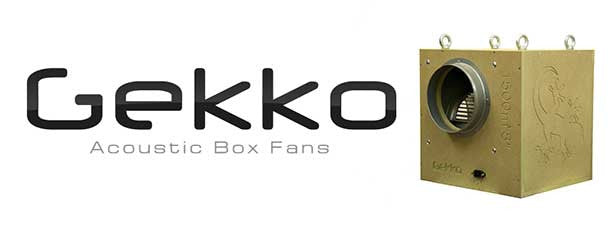 "GEKKO10"" ,250MM ACOUSTIC BOX FAN.1500 M3/ph"