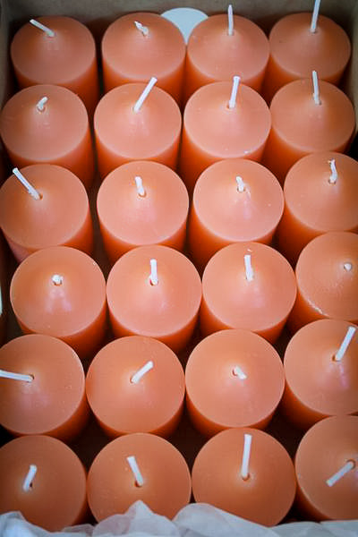 Grapefruit Scented Votive Candles