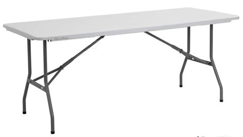Canteen Tables - Plastic 6FT
