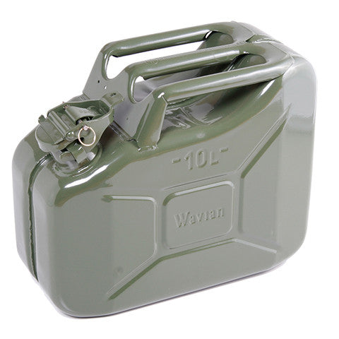 Steel Jerry Can 10 Litre - Green