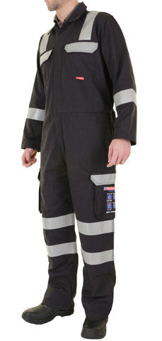 "Arc Navy Coverall 36"" - 56"""