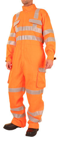 "Arc Hi Viz Orange Coverall - GORT 36"" - 56"""