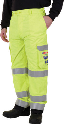 "Arc Yellow Cargo Trouser 30"" - 42"""
