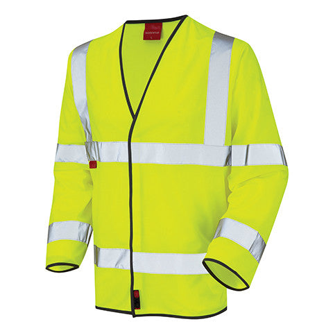 flame-retardant-yellow-class-3-long-sleeved-waistcoat