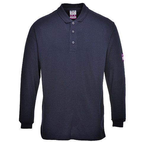 flame-retardant-navy-polo-shirt-long-sleeved