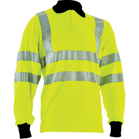 flame-retardant-polo-shirt-yellow