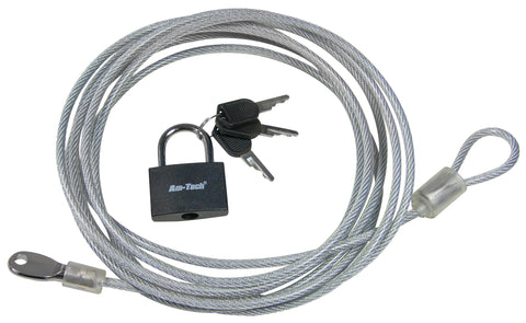 Security cable & lock set