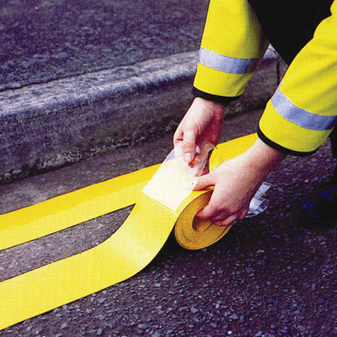 50mm Wide Thermo Plastic Road Markings