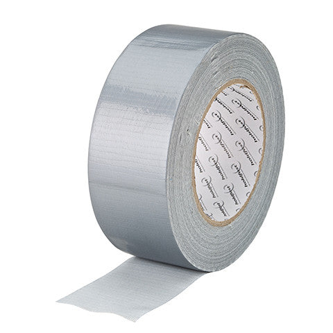 Silver Cloth Tape 75mm