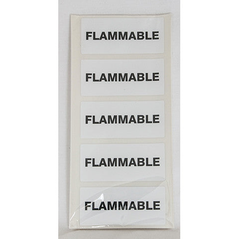 Flammable Fuel Can Sticker