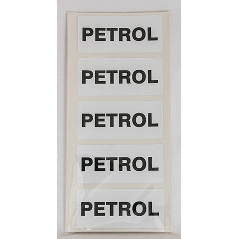 Petrol Fuel Can Sticker