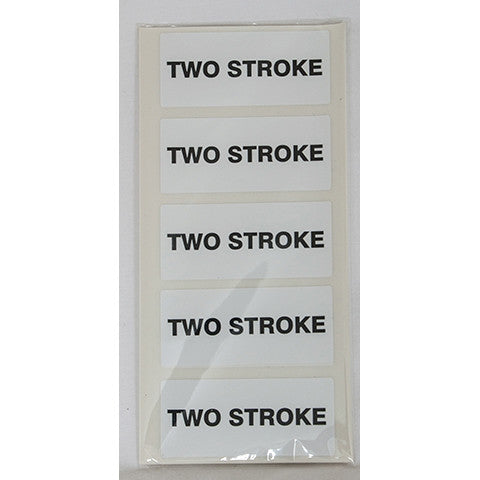 Two Stroke Fuel Can Sticker