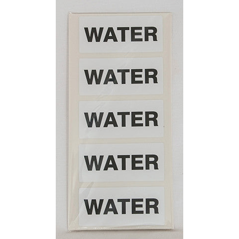 Water Fuel Can Sticker