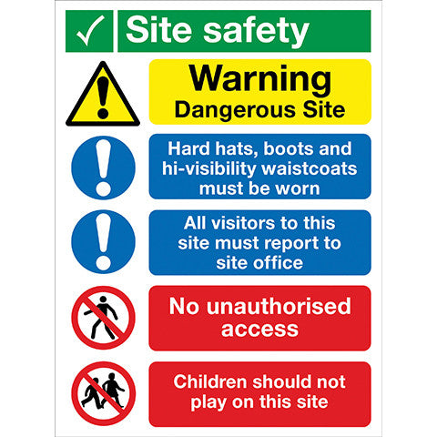 site-safety-sign-5-panel