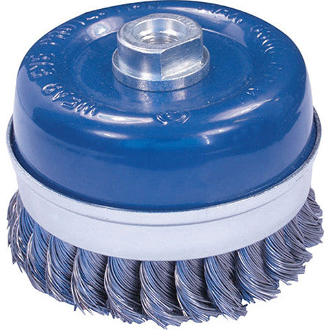 Heavy Duty Twist Knot Wire Cup Brush