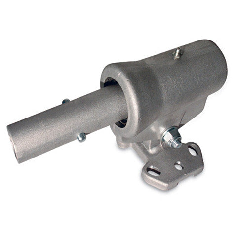 Adjustable Worm Head Pitch Control for Concrete Floats