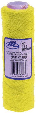 Marshalltown - Yellow Braided Nylon Line
