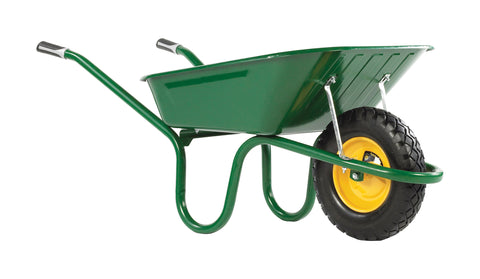 90l wheelbarrow with puncture free wheel