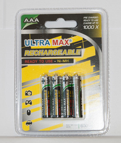 Rechargable Batteries 34RBAAA