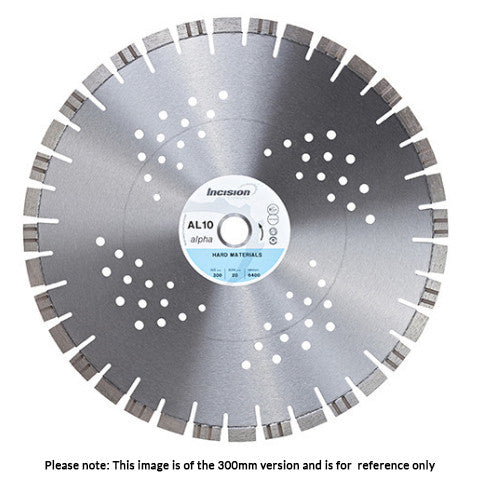 AL 10-230/22 - Alpha Range Diamond Blade for Hard Materials