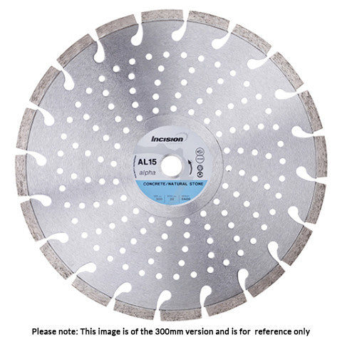 AL15 - Alpha Concrete & Natural Products Diamond Blade