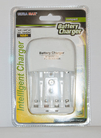 Battery Charger For Aa Aaa Amp 9v Batteries Lapwinguk
