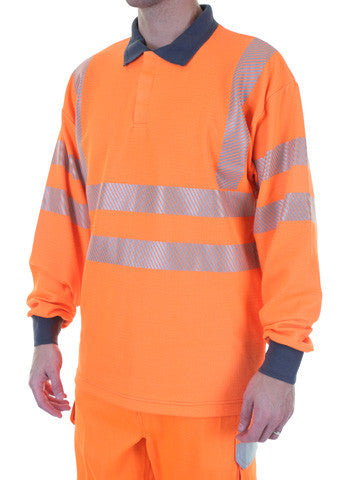 Arc Hi Viz Orange Polo Shirt - Gort M-3XL