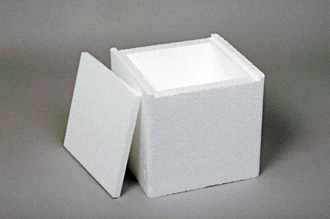Polystyrene Cube Moulds 100mm