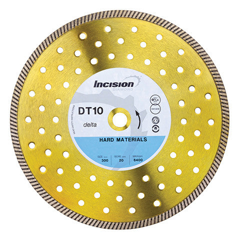DT10 - Delta Range Multi-Hard/Steel Diamond Blade