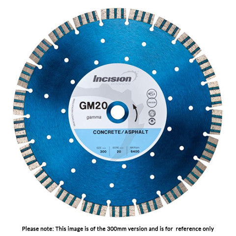 GM20 -  Gamma Range General Purpose & Concrete Products Diamond Blade