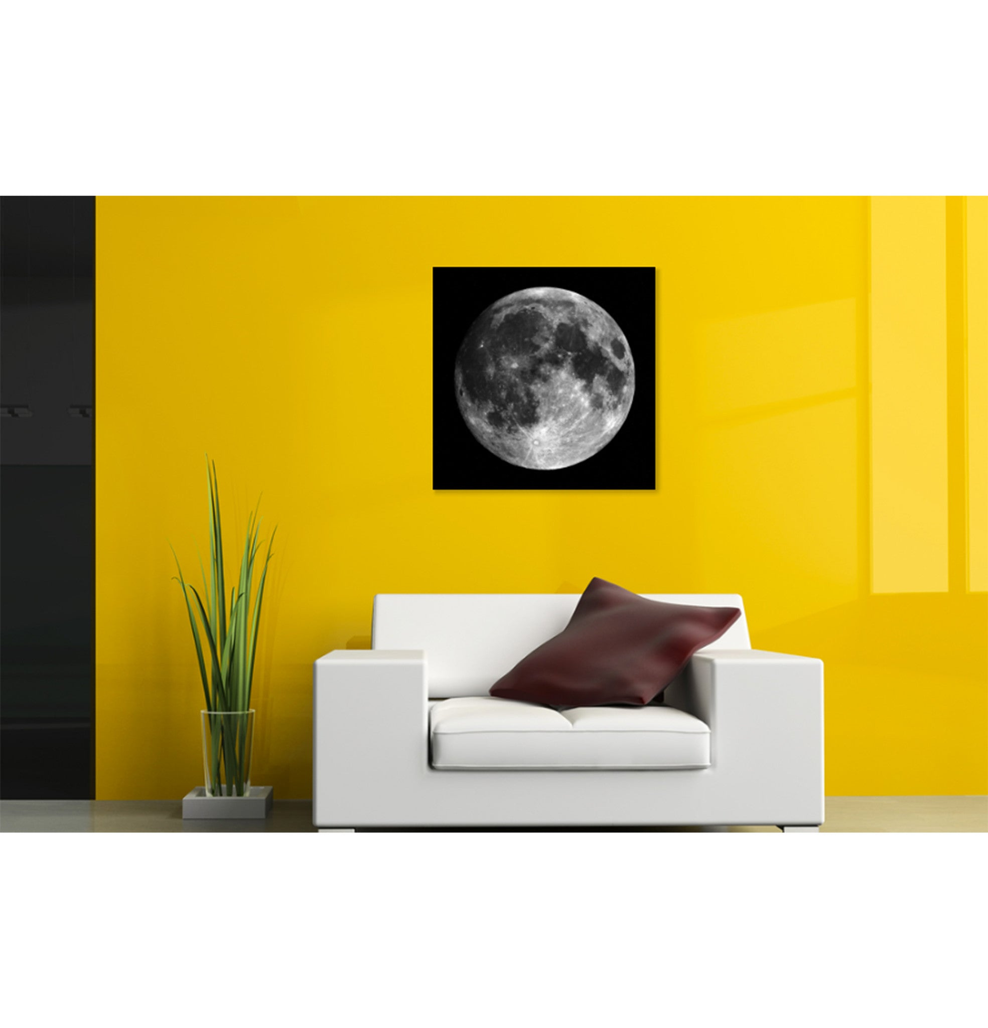 Space Wall Art | Black and White | Large Format Digital Print ...