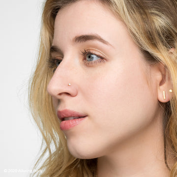 Bold VVS Diamond Nose Stud