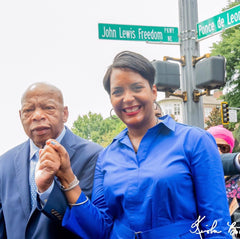 Mayor Bottoms and Rep. John Lewis