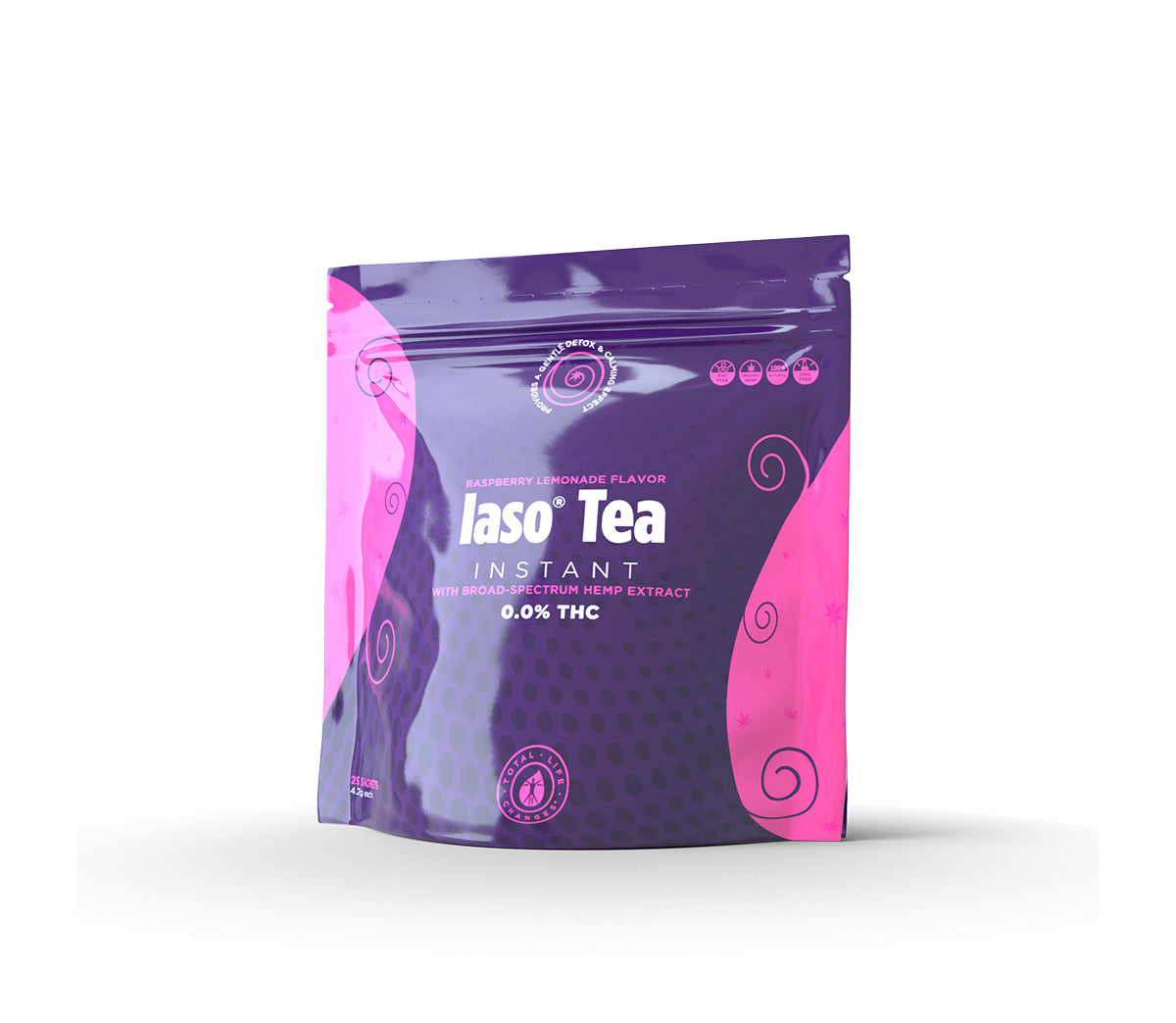 Iaso® Tea Instant with Broad-Spectrum Hemp Extract