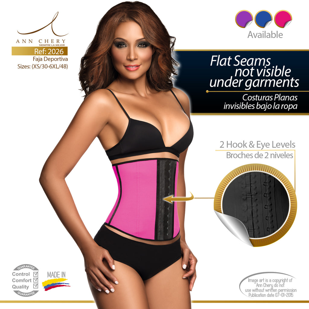 8d1301e822 Sport Workout Latex 2-Hook Waist Trainer by Ann Chery 2026